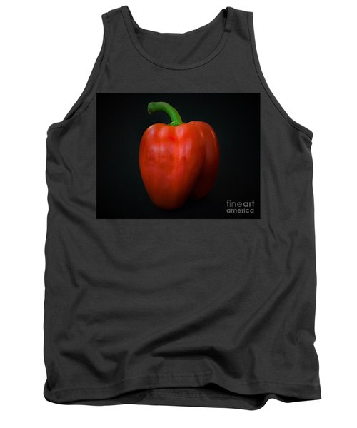 Red Bell Pepper Tank Top by Ray Shrewsberry