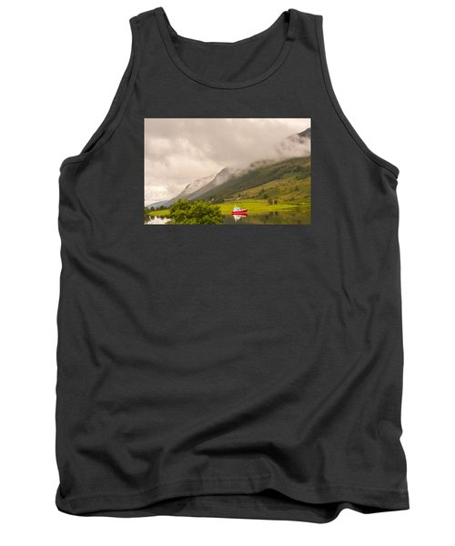 Red Boat Tank Top