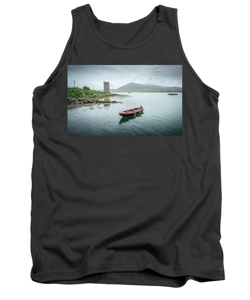 Red Boat Tank Top by Marty Garland