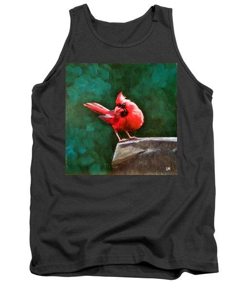 Red Cardinal Tank Top