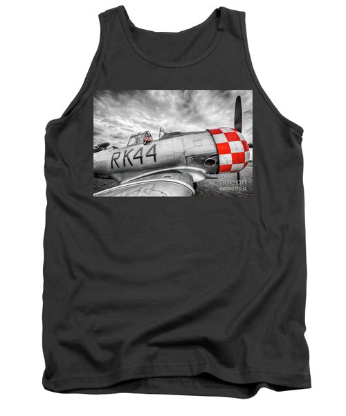 Red Checkers Tank Top