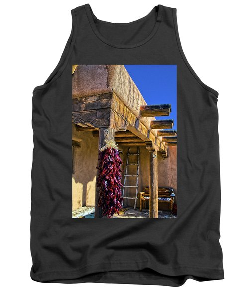 Red Chillies At New Years Tank Top
