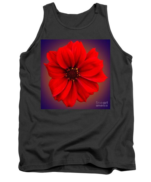 Red Dahlia-bishop-of-llandaff Tank Top