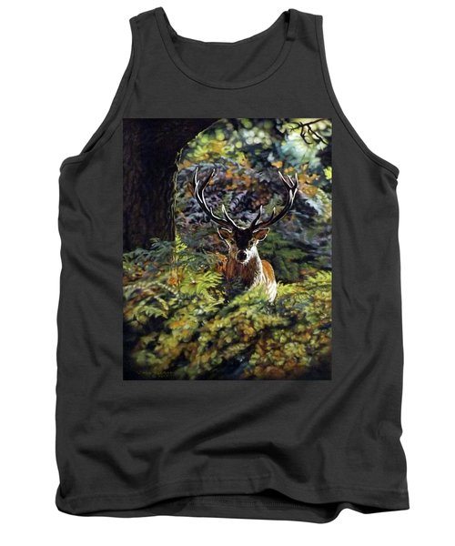 Red Deer Stag Tank Top