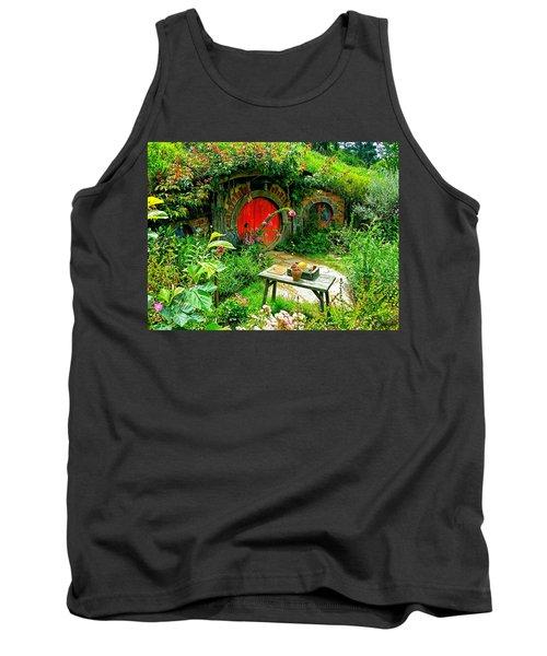 Red Door Hobbit Home Photo Tank Top