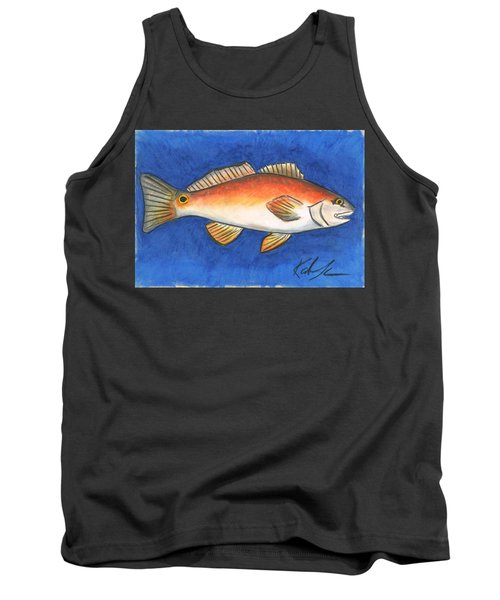 Red Fish Tank Top