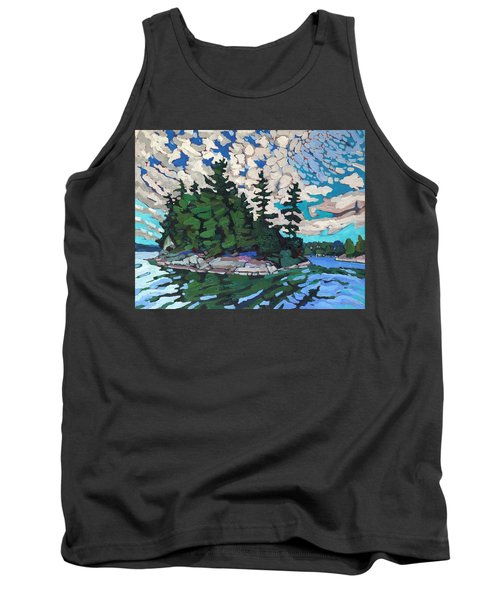 Red Horse Paradise Tank Top
