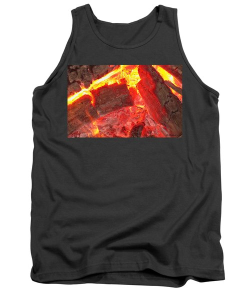 Tank Top featuring the photograph Red Hot by Betty Northcutt