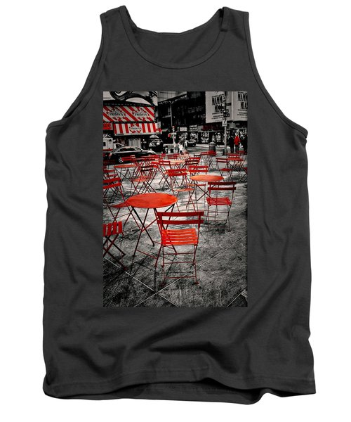 Red In My World - New York City Tank Top
