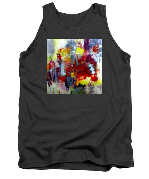 Red Light Tank Top by Katie Black