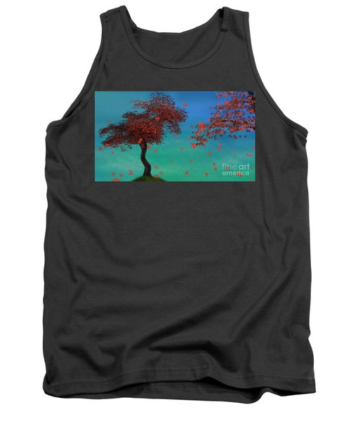 Red Maples Tank Top