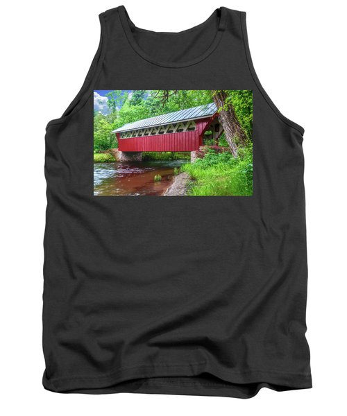 Red Mill Covered Bridge Tank Top by Trey Foerster