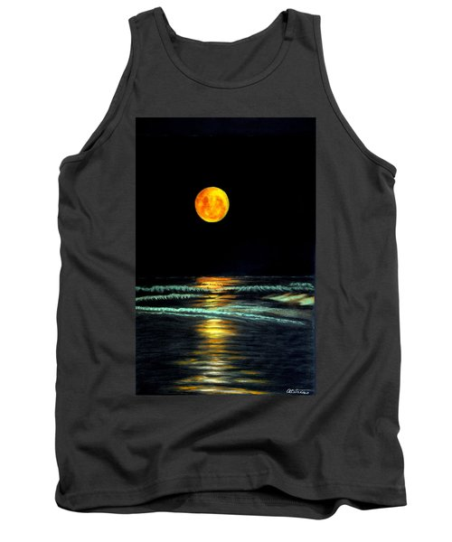 Red Moon Rising Tank Top