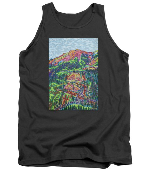 Red Mountain Tank Top by Robert SORENSEN