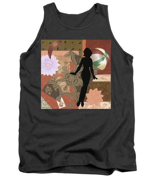 Red Paper Doll Tank Top