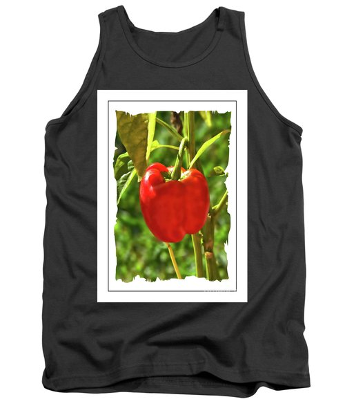 Red Pepper On The Vine Tank Top