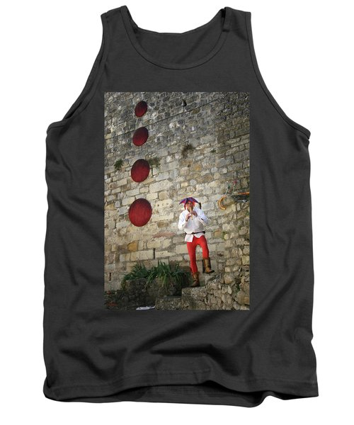 Red Piper Tank Top