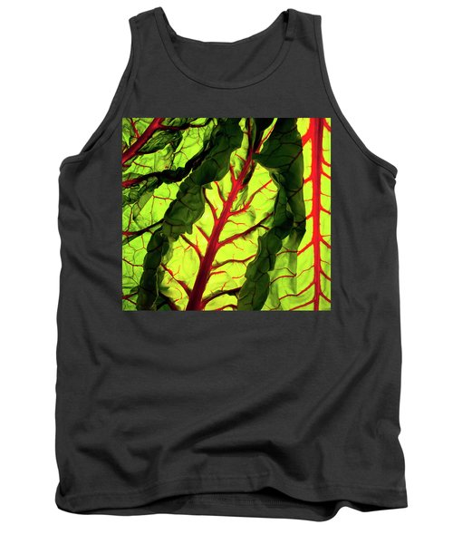 Tank Top featuring the photograph Red River by Bobby Villapando
