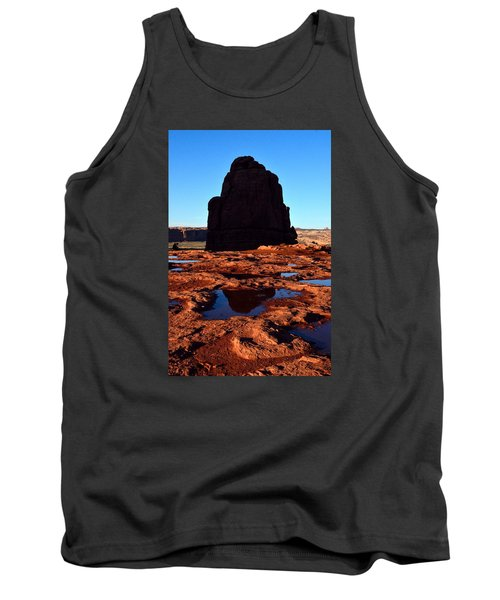Red Rock Reflection At Sunset Tank Top