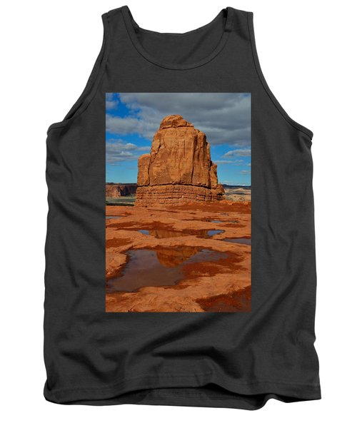Red Rock Reflection Tank Top