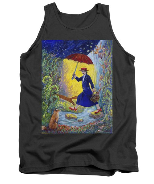Red Shoes Mary Poppins Tank Top