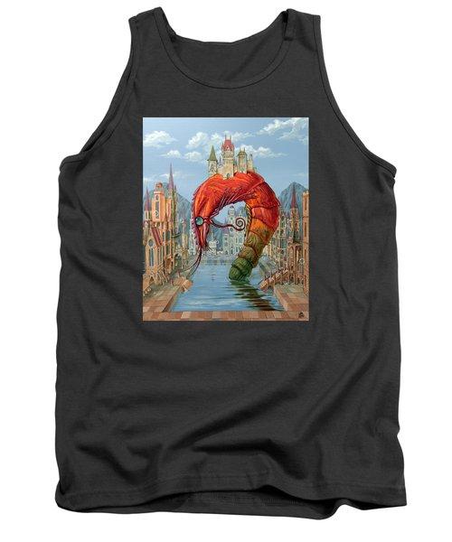 Red Shrimp Tank Top