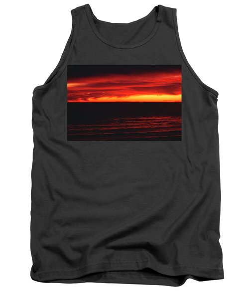 Red Sky At Night Tank Top