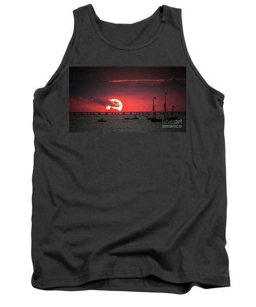 Red Sky Tank Top by Scott and Dixie Wiley