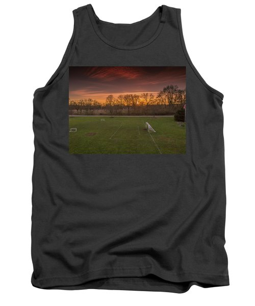 Red Sunset Tank Top