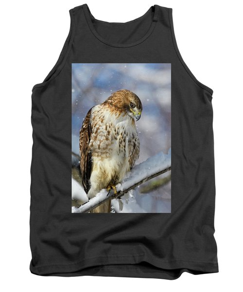 Red Tailed Hawk, Glamour Pose Tank Top