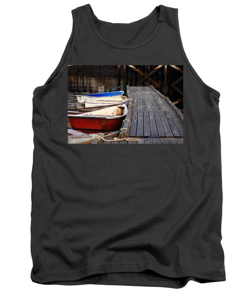 Red, White, And Blue Dingys Tank Top
