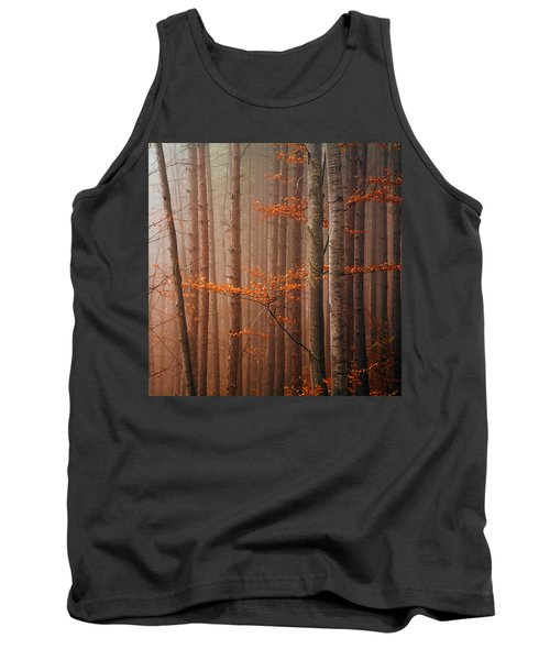 Red Wood Tank Top