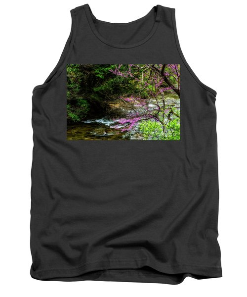 Redbud And River Tank Top