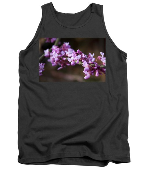 Tank Top featuring the photograph Redbuds In March by Jeff Severson