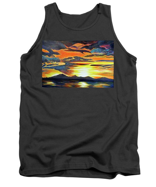 Tank Top featuring the painting Redemption by Dottie Branchreeves