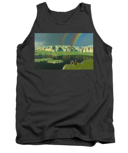 Redemption For An Angry Sky Tank Top