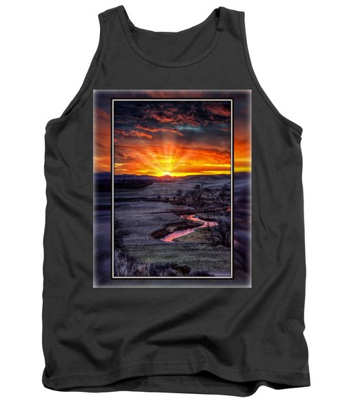 Redwater River Sunrise Tank Top