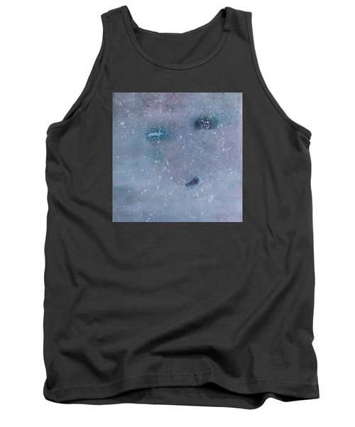 Tank Top featuring the painting Self-examination by Min Zou