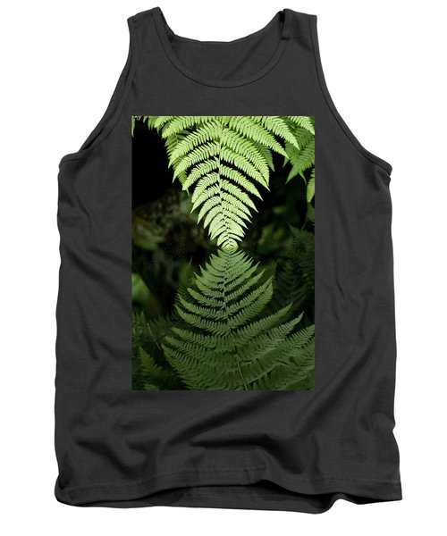 Reflected Ferns Tank Top
