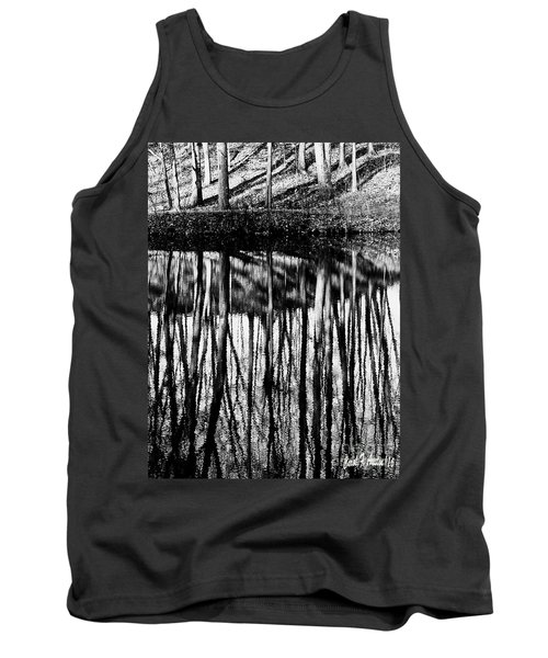 Reflected Landscape Patterns Tank Top