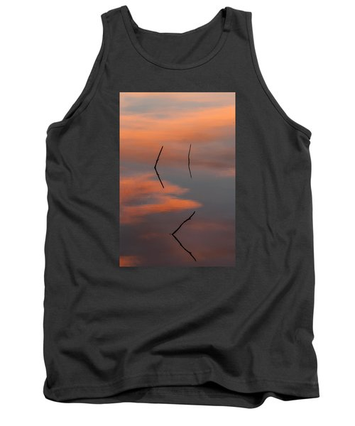 Reflected Sunrise Tank Top by Monte Stevens