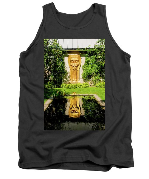 Tank Top featuring the photograph Reflecting Art by Greg Fortier