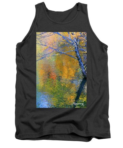 Reflecting Autumn Tank Top by Mariarosa Rockefeller