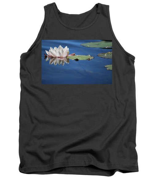 Tank Top featuring the photograph Reflecting In Blue Water by Amee Cave