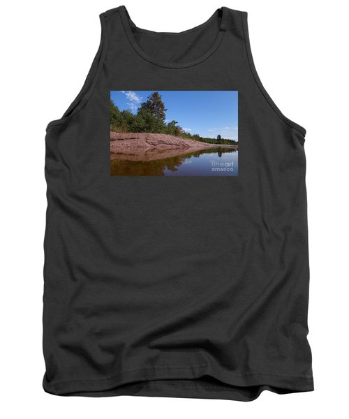Tank Top featuring the photograph Reflecting On Change by Sandra Updyke