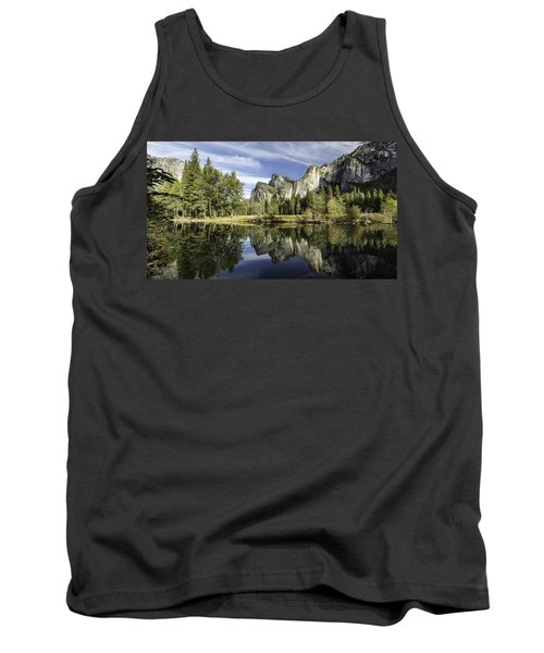 Reflecting On Yosemite Tank Top