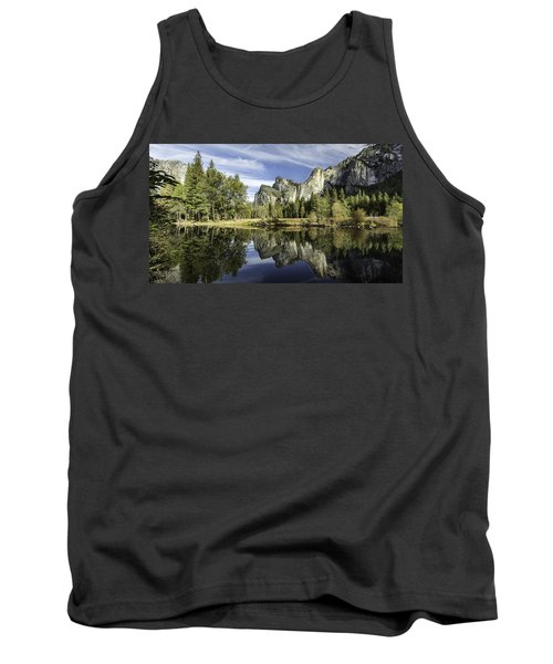 Reflecting On Yosemite Tank Top
