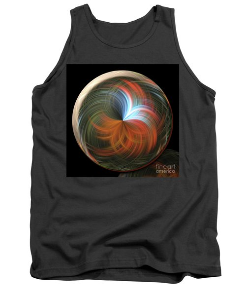 Reflecting Orb Tank Top by Judy Wolinsky