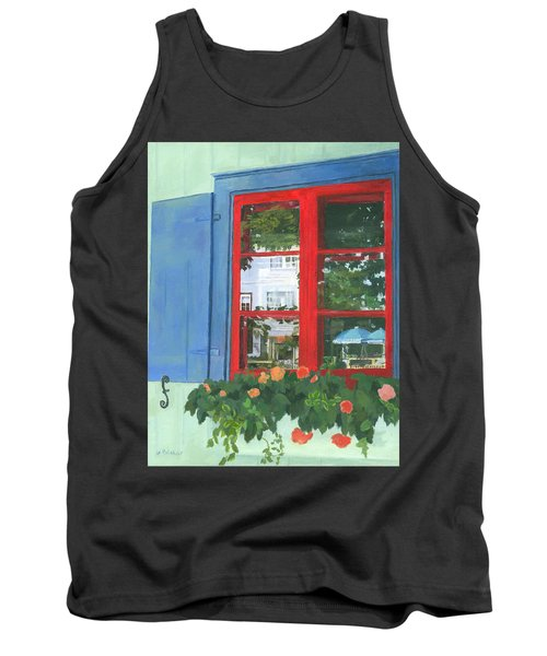 Reflecting Panes Tank Top by Lynne Reichhart