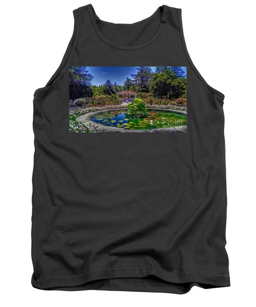 Reflecting Pool At Colonial Park Tank Top